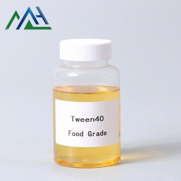 Surfactant tween 40 food grade Polyoxyethylene sorbitan monopalmitate cas 9005-66-7