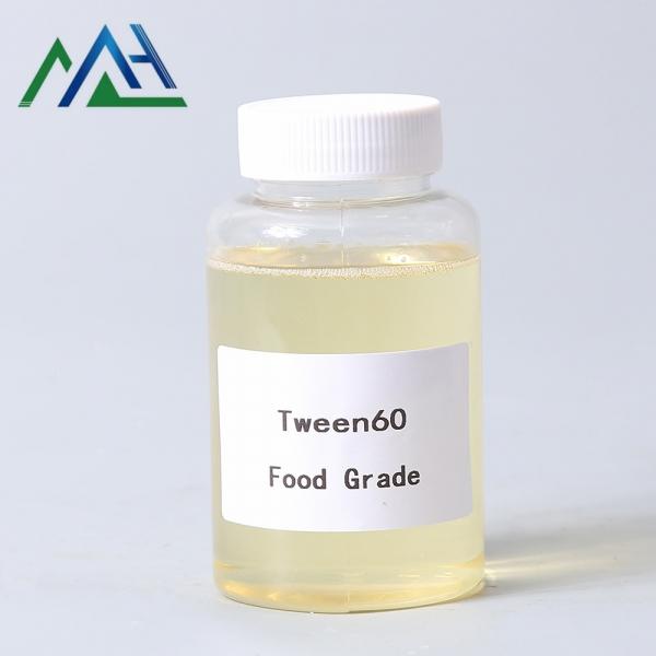 Food Grade emulsifier Tween 60 polysorbate 60 Polyethylene glycol sorbitan monostearate CAS No.9005-64-5