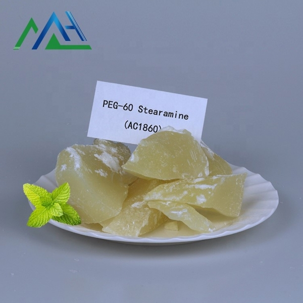Used in shampoo surfactant CAS No. 26635-92-7 Polyoxyethylene(60) stearyl amine ether Ethoxylated stearylamine (AC1860)