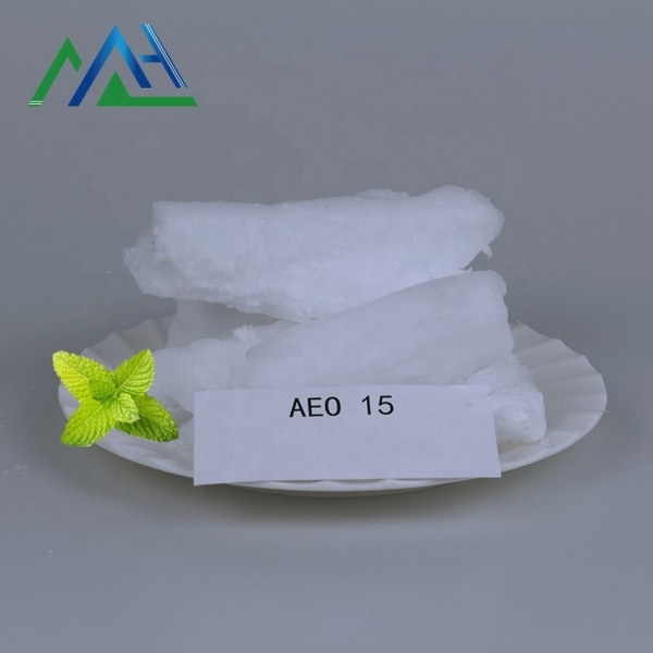 Alcohol ethoxylate surfactant washing agent textile dyes and chemicals CAS No. 9002-92-0 AEO15