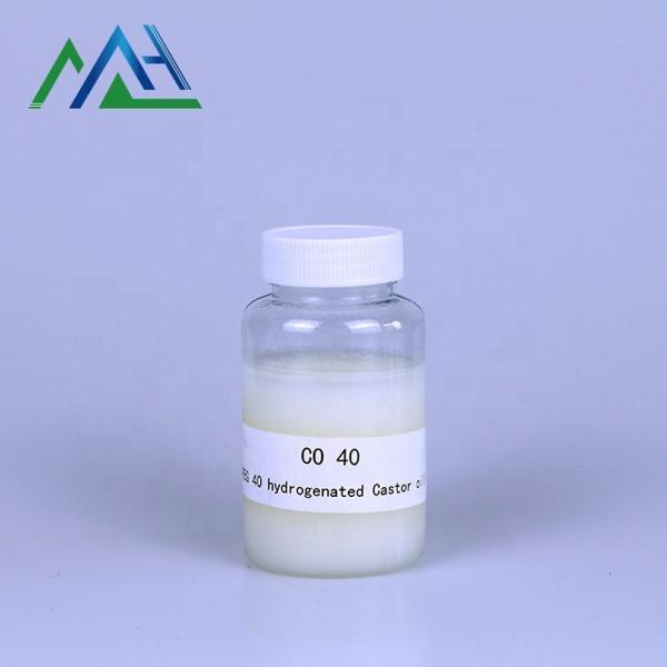 Cas 61788-85-0 peg-40 hydrogenated castor oil peg 40 hydrogenated castor oil CO 40
