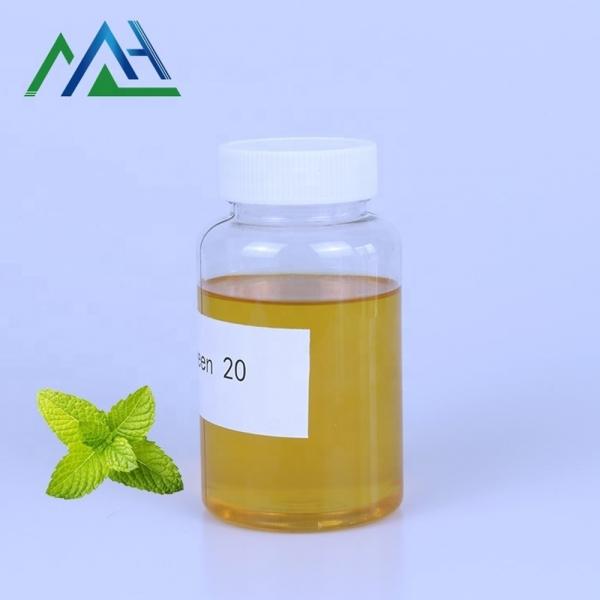 Industrial-grade surfactant CAS No.9005-64-5 tween 20 Polyoxyethylene sorbitan monolaurate polysorbate 20