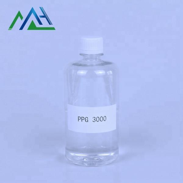 Plasticizing agent Poly propylene glycol PPG 3000 CAS 25322-69-4