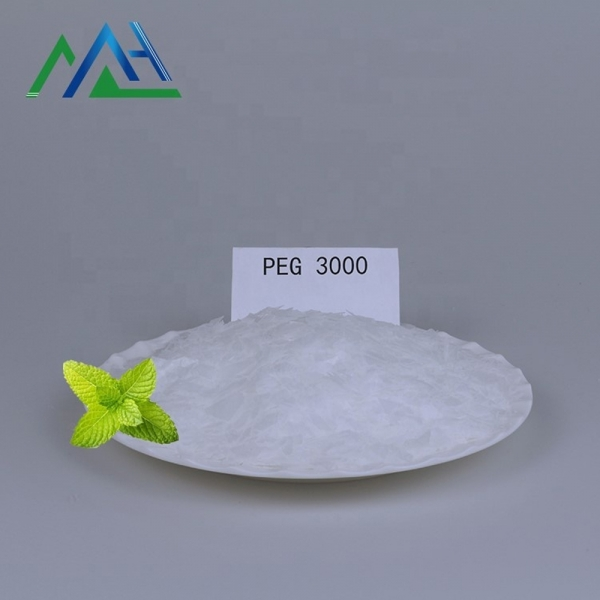 Stabilizer poly ethylene glycol cas 25322-68-3 peg 3000