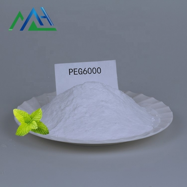 Used as emulsifier 25322-68-3 carbowax peg 6000